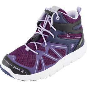 Kamik Fury Hi GTX Shoes Kids dark purple/mauve fonce